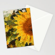 VG style fields of sunflowers Stationery Cards