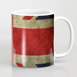GRUNGY BRITISH UNION JACK  DESIGN ART Coffee Mug