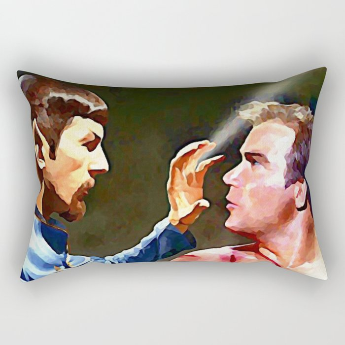 You Mirror My Desire Rectangular Pillow