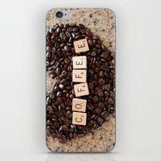 Love Coffee iPhone & iPod Skin