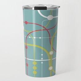Line By Line - Bubblegum Pop-A Travel Mug