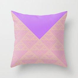 a+b+c+ac+abc (mod 4) (pastel) Throw Pillow