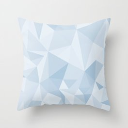 Polygonal Abstract Background Design Throw Pillow