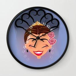 Tuti-Lady Flamenquerías/Character & Art Toy design for fun Wall Clock