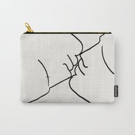 Poster-Jean Cocteau-Kiss. Carry-All Pouch