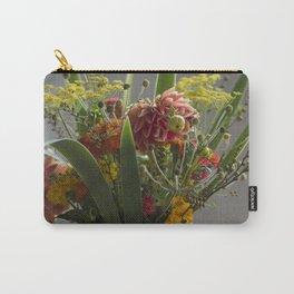 Vintage Bouquet Carry-All Pouch
