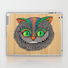 Alice´s Cat Wood Laptop & iPad Skin