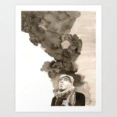 Sina Art Print