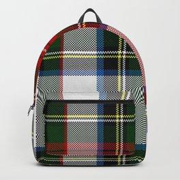 Clan Stewart Dress Tartan Plaid Pattern Backpack