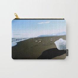 Jokulsarlon Beach, Iceland Carry-All Pouch