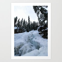 this world is not a cold, dead place Art Print
