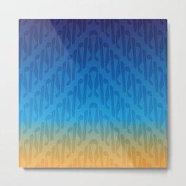 Parang Sunrise (Batik) Metal Print