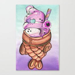 Taiyaki Canvas Print