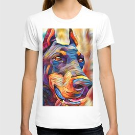 Doberman 2 T-shirt