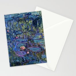 Claude Monet - Nympheas Stationery Cards