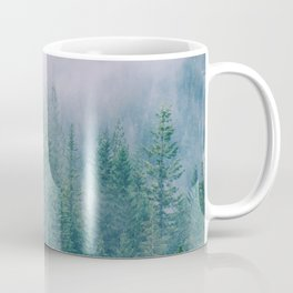 Foggy Forest in Squamish, British Columbia Coffee Mug