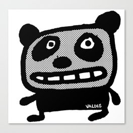 Graphic Panda! Canvas Print