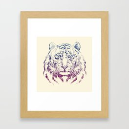 TIGER HEAD Framed Art Print