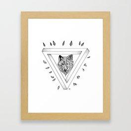 Infinite Wolfox Framed Art Print