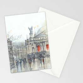 Lviv cityscape Stationery Cards
