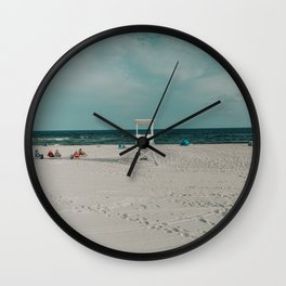 Life Guard Wide Wall Clock