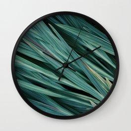 Zen Grass Wall Clock