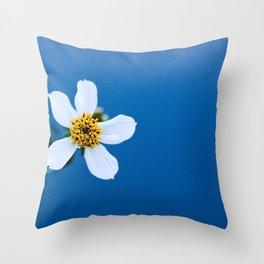 flower photography by Fidel Fernando Throw Pillow