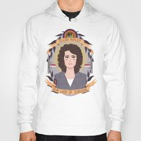 ripley Hoodies featuring Ellen Ripley by heymonster