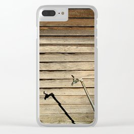 On Tap Clear iPhone Case