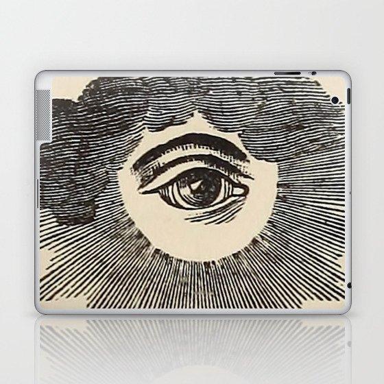 Vintage Magic Eye Laptop & iPad Skin