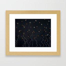 Melacholic Framed Art Print