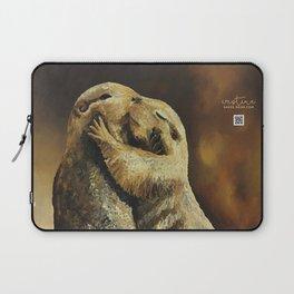 El beso de los perritos de la pradera Laptop Sleeve