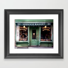 Vesubio Bakery (in color) Framed Art Print