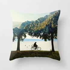 Into the Nature Throw Pillow