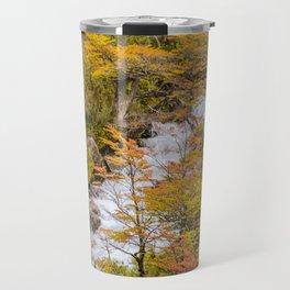 Colored Forest Landscape, Patagonia - Argentina Travel Mug