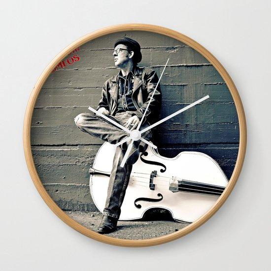 Rockin' Billy Burns Wall Clock