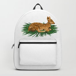 Fawn Illustration Backpack