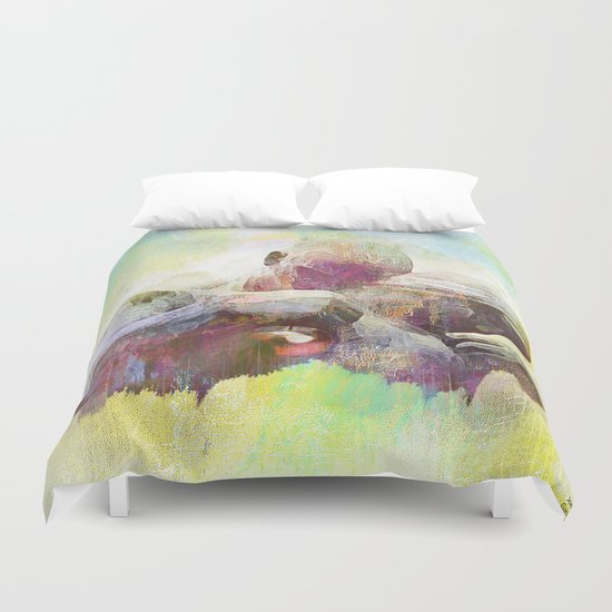 thrown out of Eden Duvet Cover