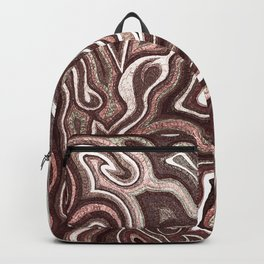 Abstract #1 - I Pastel Pink Backpack