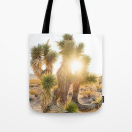 Joshua Tree Sunrise Tote Bag
