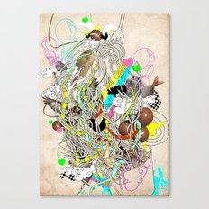 spaghetiii Canvas Print