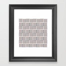 AFE Basket Weave2 Framed Art Print