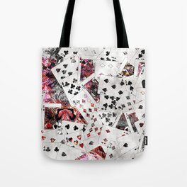 Abstract  Playing Cards Digital art Tote Bag