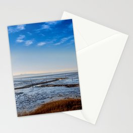 PATHLESS BLUE Stationery Cards