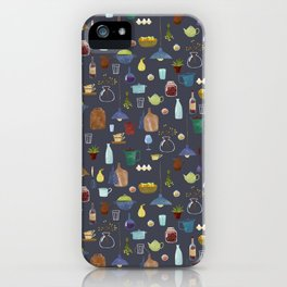 Kitchenware. Pitchers, pots, kettles and so on. iPhone Case