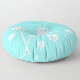Palms in the Sky Floor Pillow