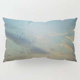 Dark Clouds File in When the Moon is Near Pillow Sham