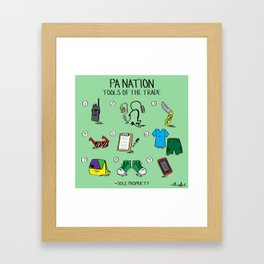 PA Nation - Tools of the Trade Framed Art Print