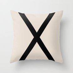 X-Height Throw Pillow