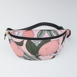 Flowering in the pink oranges Fanny Pack